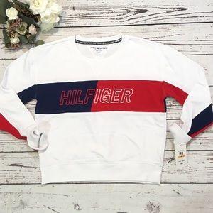 Tommy Hilfiger sports sweat shirt NWT